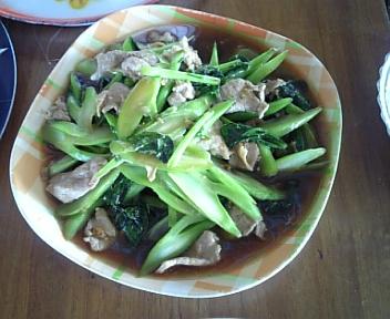 タイ釣行記 2日目昼食