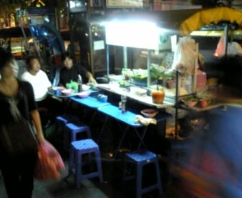 タイ釣行記 2日目夕食