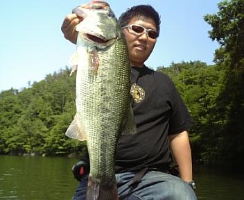 6月13日入鹿池釣行